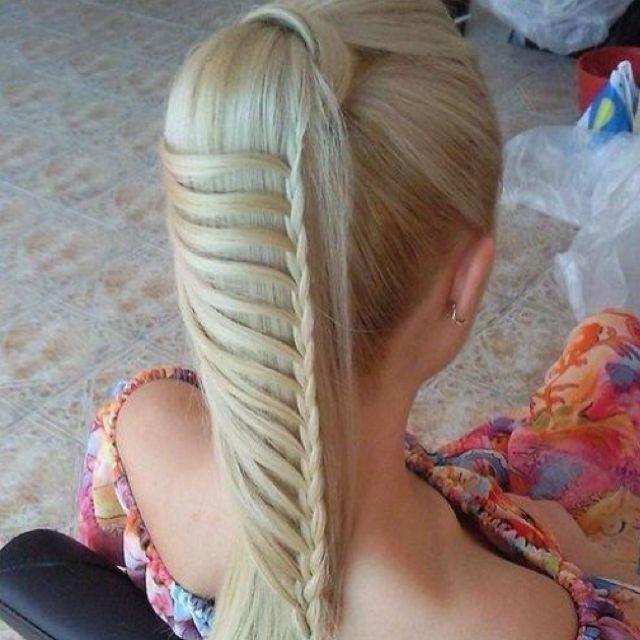 Creative braid!