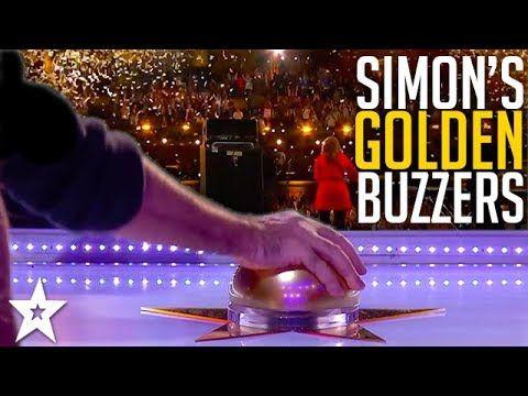 Simon Cowell's Best GOLDEN BUZZER Moments | Got Talent