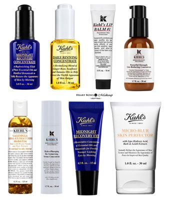 top kiehls products