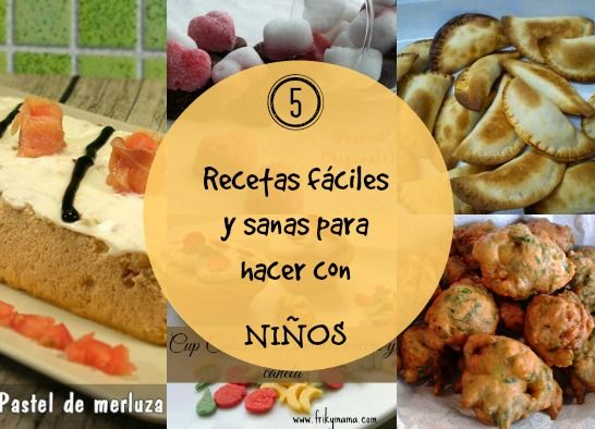 5 recetas f ciles y nutritivas para cocinar con la ayuda for Facil de cocinar