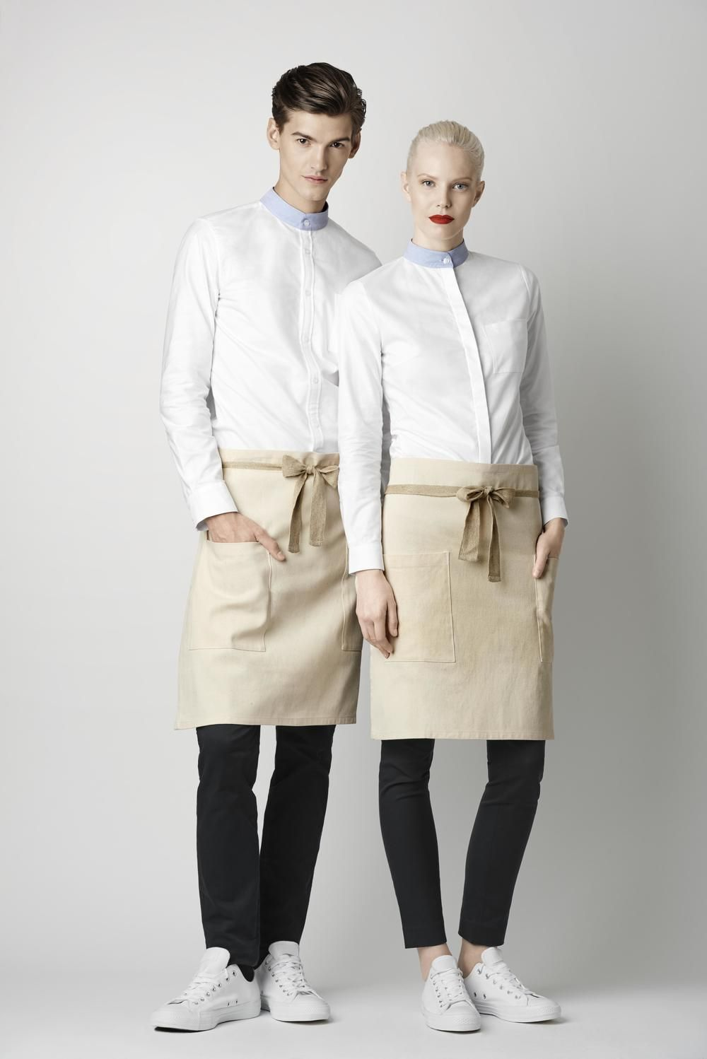 Pin by e on w pinterest apron hotel uniform and for Hotel design jersey