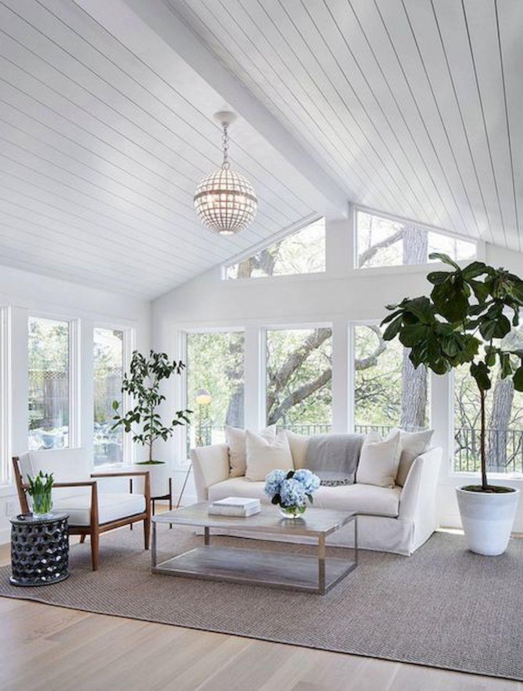 75 Romantic Shabby Chic Living Room Decor Ideas | Shabby chic living ...