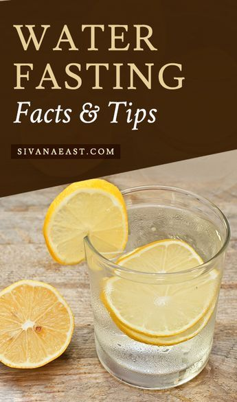 Water Fasting Facts and Tips #exerciseonwaterfast