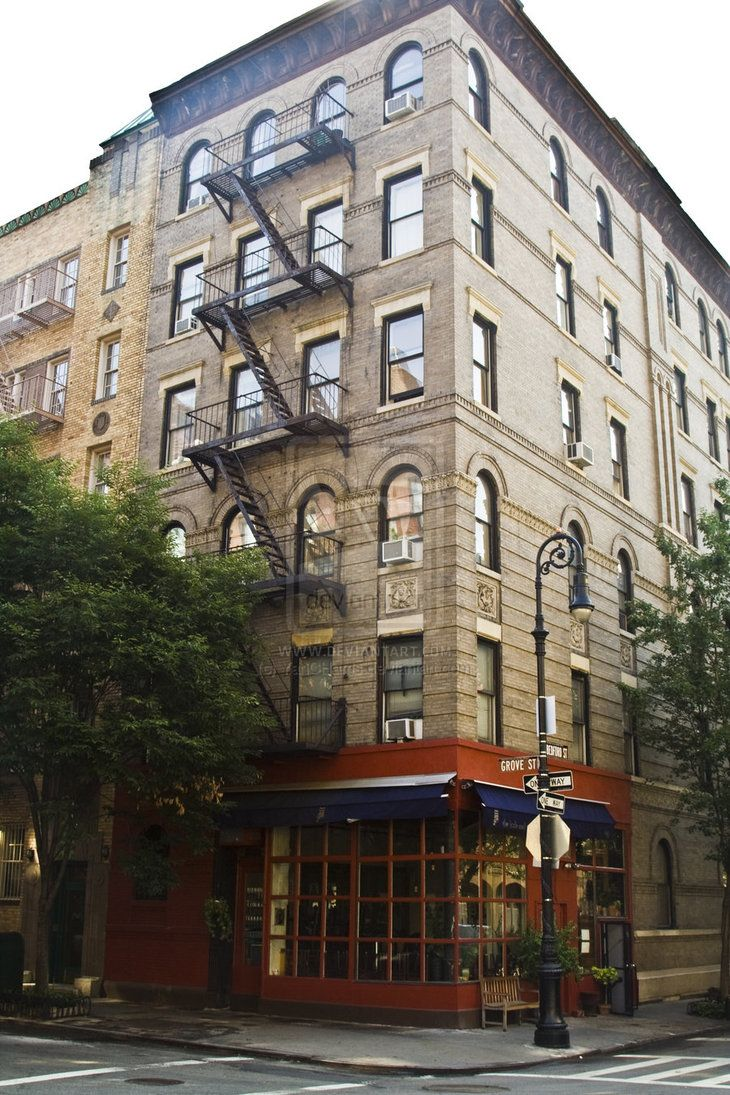Friends Building In Nyc Address Corner Of Bedford And Grove Manhattan New York City Usa