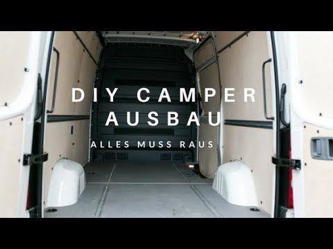 DIY Campervan Ausbau 02 Alles muss raus! Alles muss