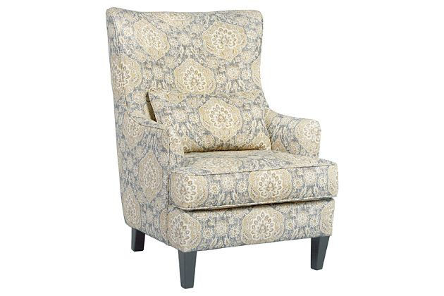 Aramore Chair By Ashley Homestore Green Accent Chairs