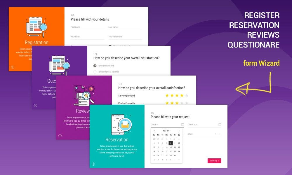Theme Of The 11 Jun 2017 Mavia Register Reservation Questionare Reviews Form Wizard By Mike Ansonika Http Www Website Template Template Site Templates