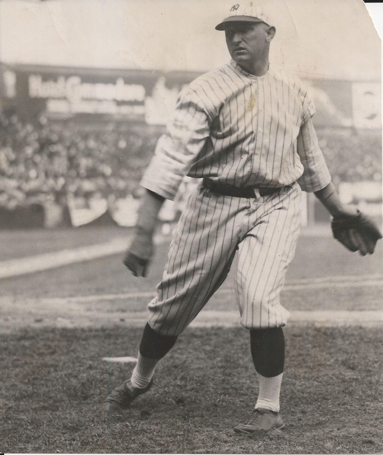 wholesale dealer 46acb 82306 Carl Mays 1920's Original Photo NY Yankees Uniform The Pitch ...