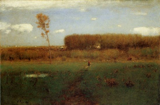 """""""October Noon"""" by George Inness"""