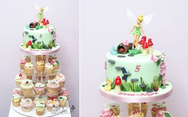 flower fairy cake by Candytuft Cakes Kiddo Cakes and Sweets