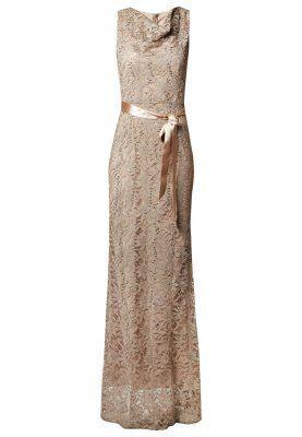 Young Couture By Barbara Schwarzer Greige Evening Dress Jurken Gala Jurken Avondjurk