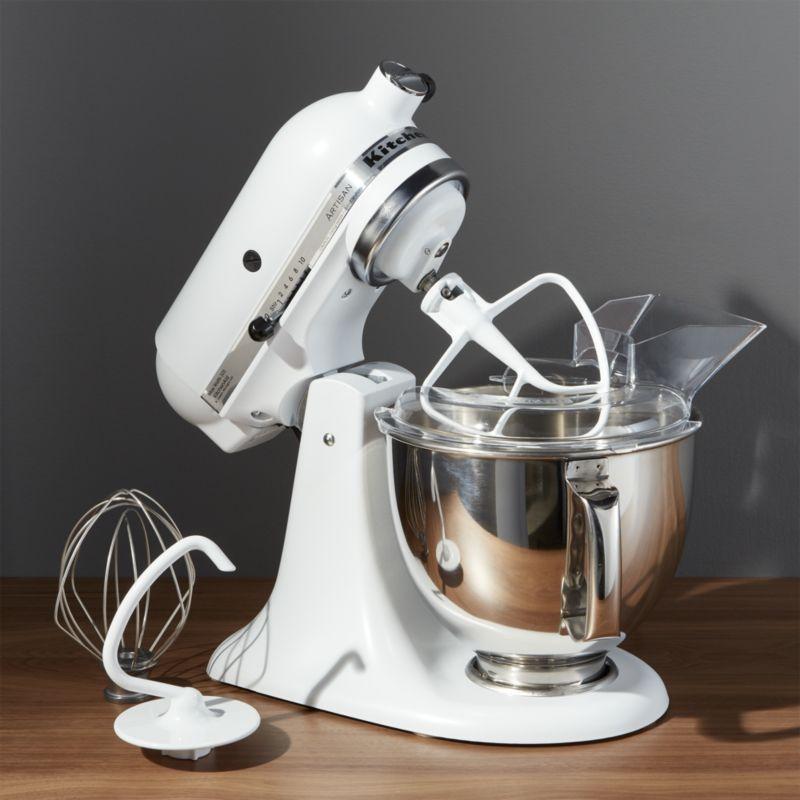 Kitchenaid Artisan Matte White Stand Mixer Reviews Crate And