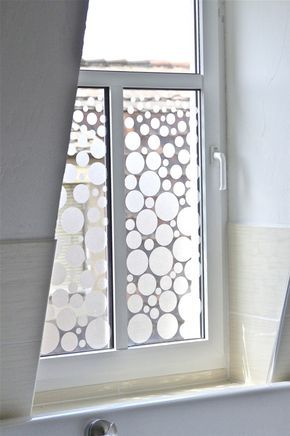 Sichtschutz mit Anleitung neues Bad Pinterest Bathroom windows
