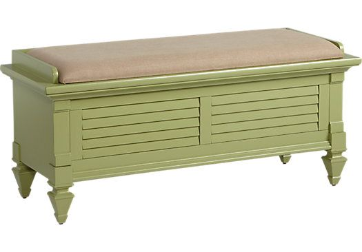 For A Belmar Green Storage Bench At Rooms To Go Find