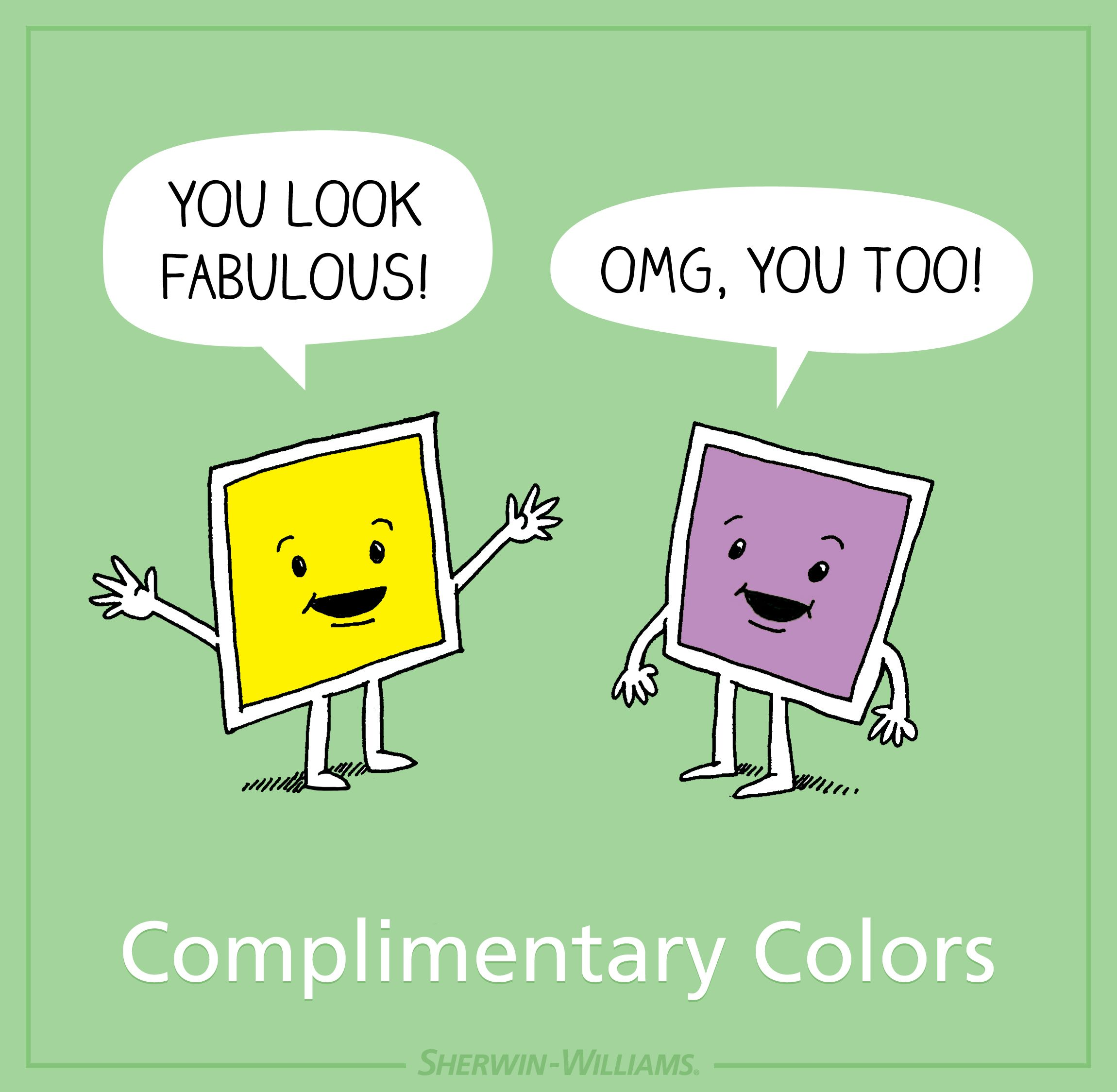 Find out more about complementary shades for Sherwin-Williams ...