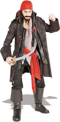 Pirate Captain Cutthroat Costumes and Halloween costumes - homemade halloween costume ideas men