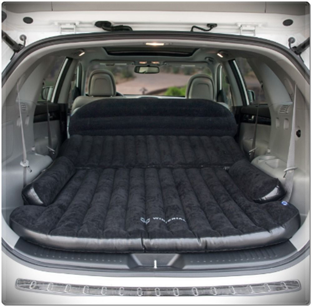 Inflatable Backseat Car Mattress Comfortable Easy To Set Up