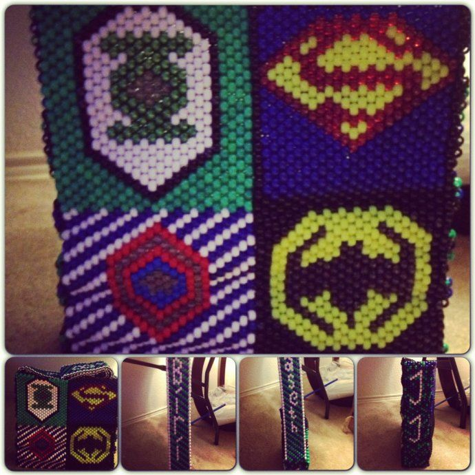 my superhero kandi bag