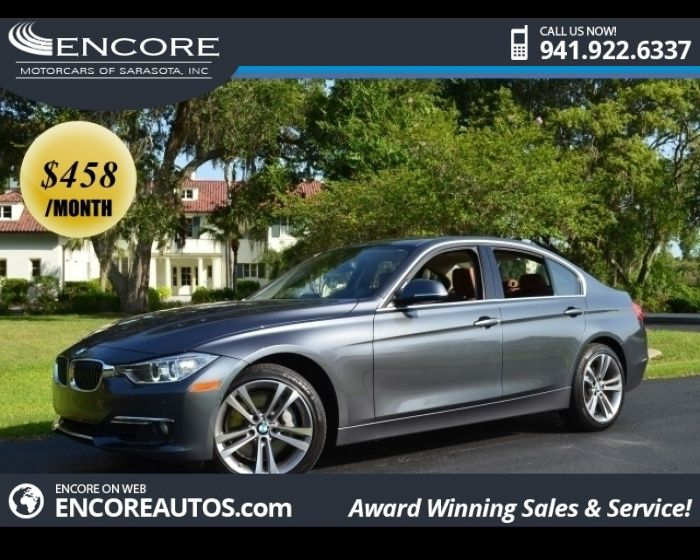 BMW I LUXURY LINE SEDAN WPREMIUM AND TECHNOLOGY PACKAGES - 2012 bmw 335i sedan for sale