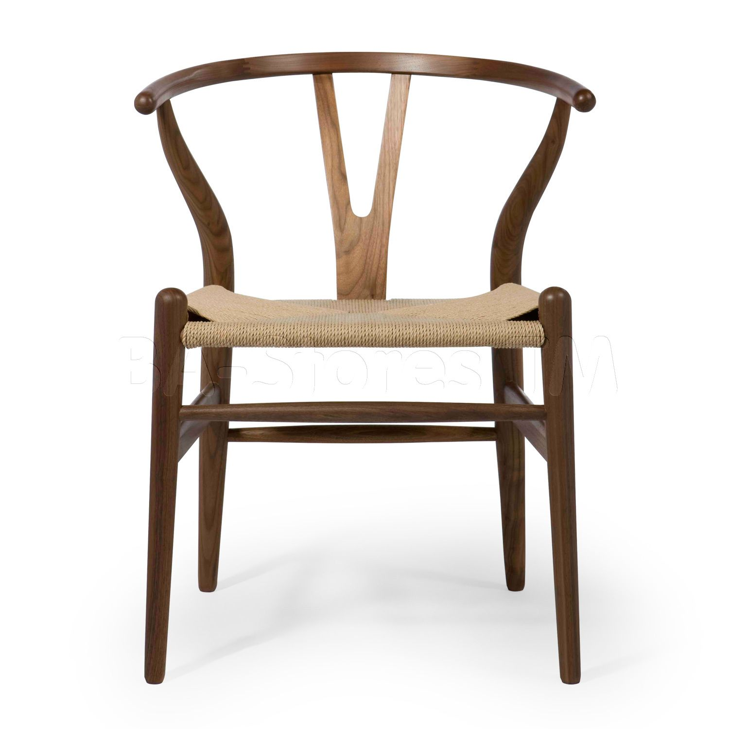 Albany2 Dining Chair in Walnut by Aeon Wishbone chair