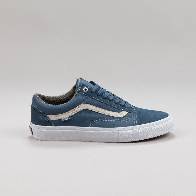 21da5c32d7 Vans Old Skool Pro Shoes - Dull Navy