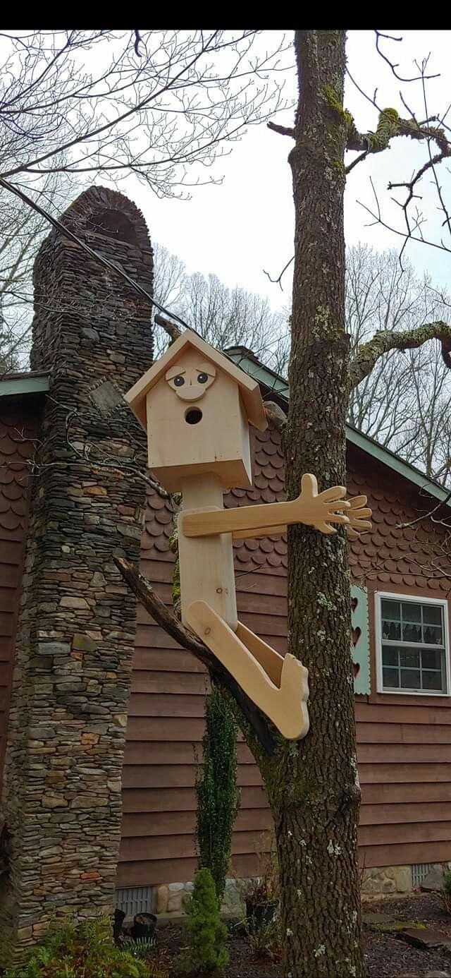 Birdhouse Man #birdhouses