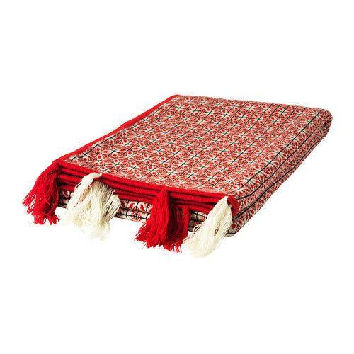 Ikea Gultoppa Plaid 180x120cm Rot Tagesdecke Wohndecke