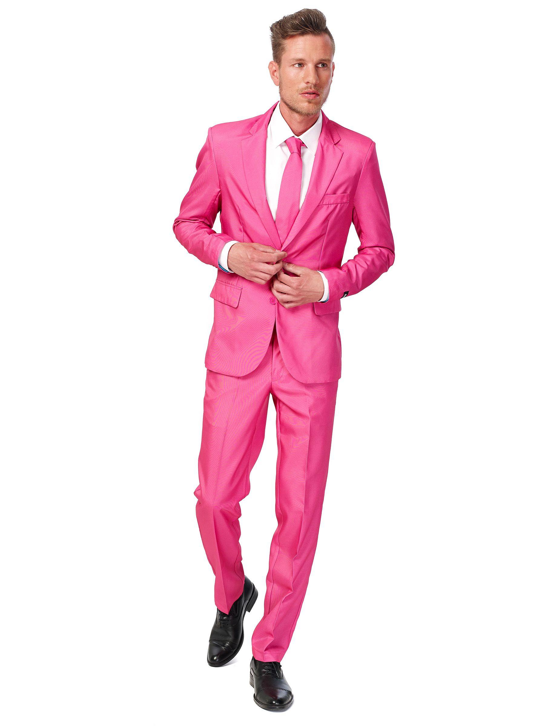 Traje rosa hombre Suitmeister™ | Traje rosa, Hombrera y La chaqueta