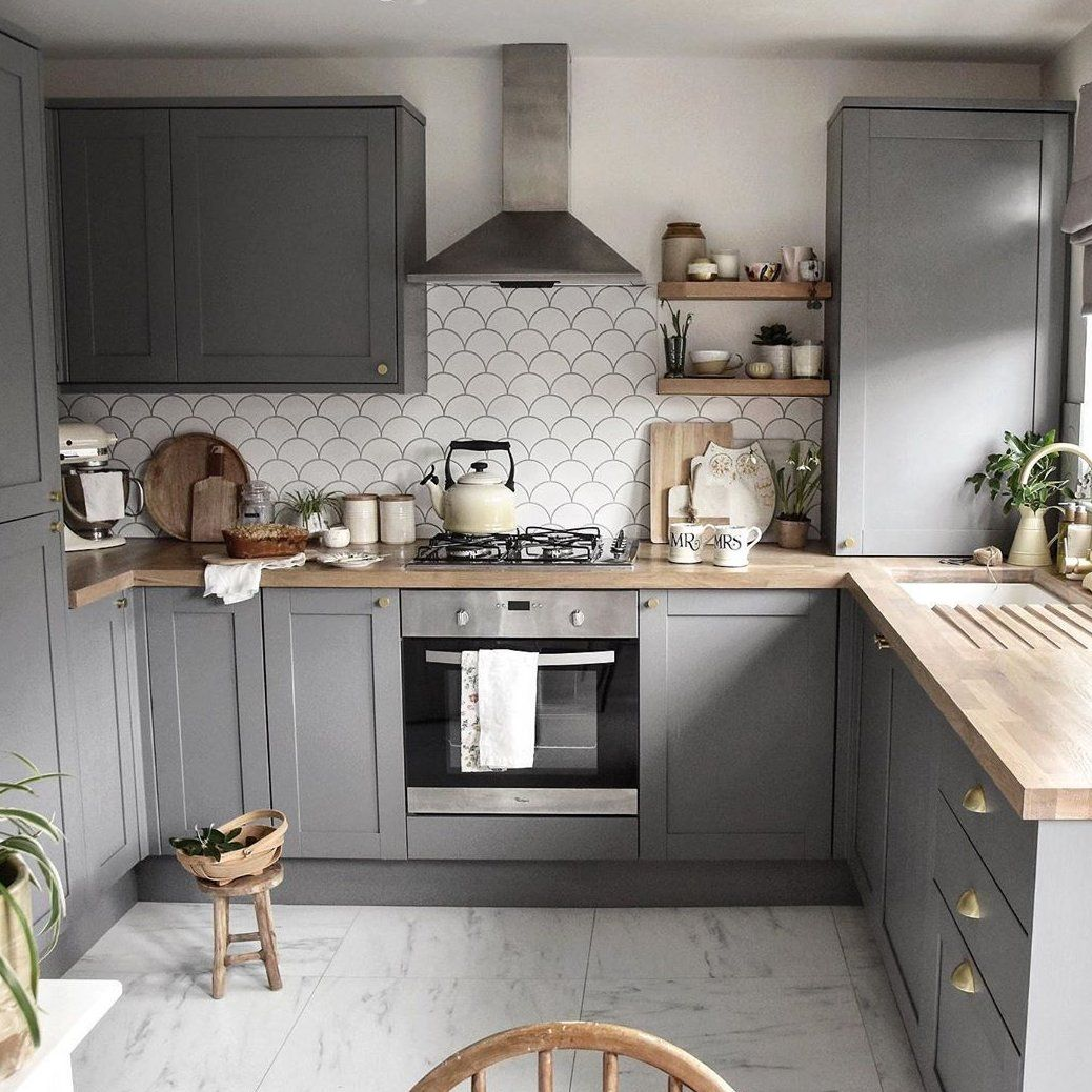 Fairford Slate Grey Kitchen Smallkitchenideas In 2020 Grey Kitchen Designs Kitchen Design Small Country Kitchen Designs