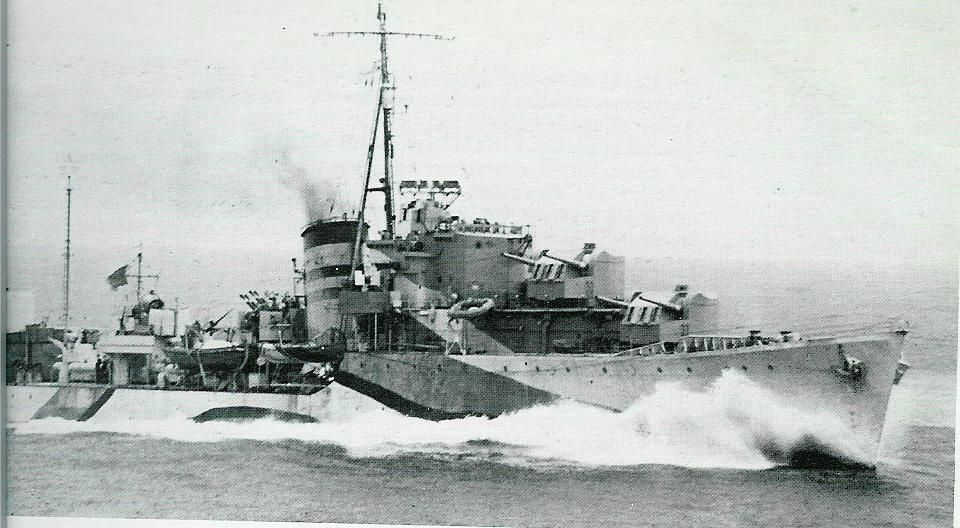 Image result for HMS Laforey ww2