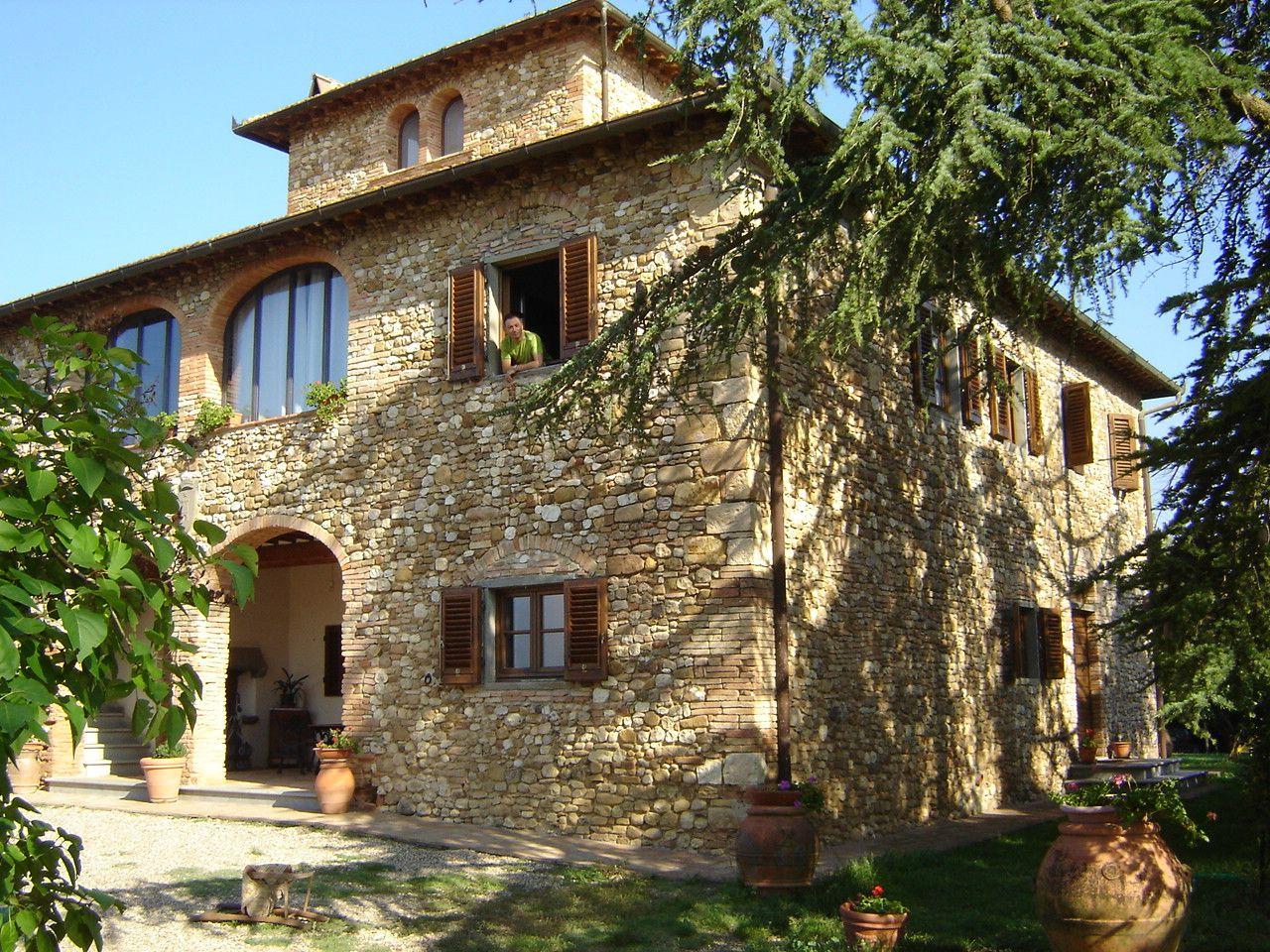Espectacular casa de vacaciones en la toscana imagen for La casa toscana tradizionale