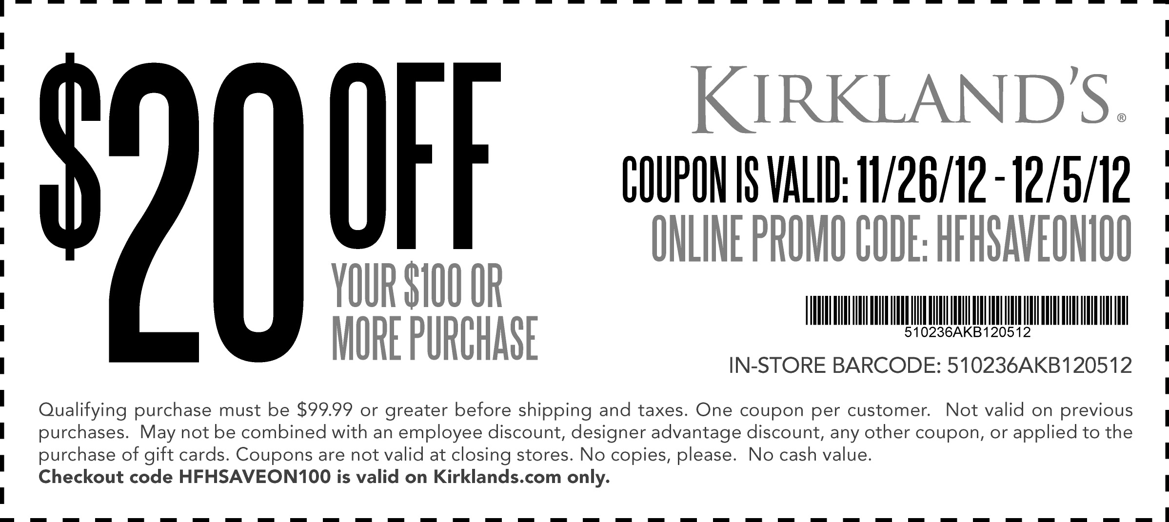 Kirkland S Home For The Holidays Coupon Free Printable Coupons Promo Codes Online Printable Coupons