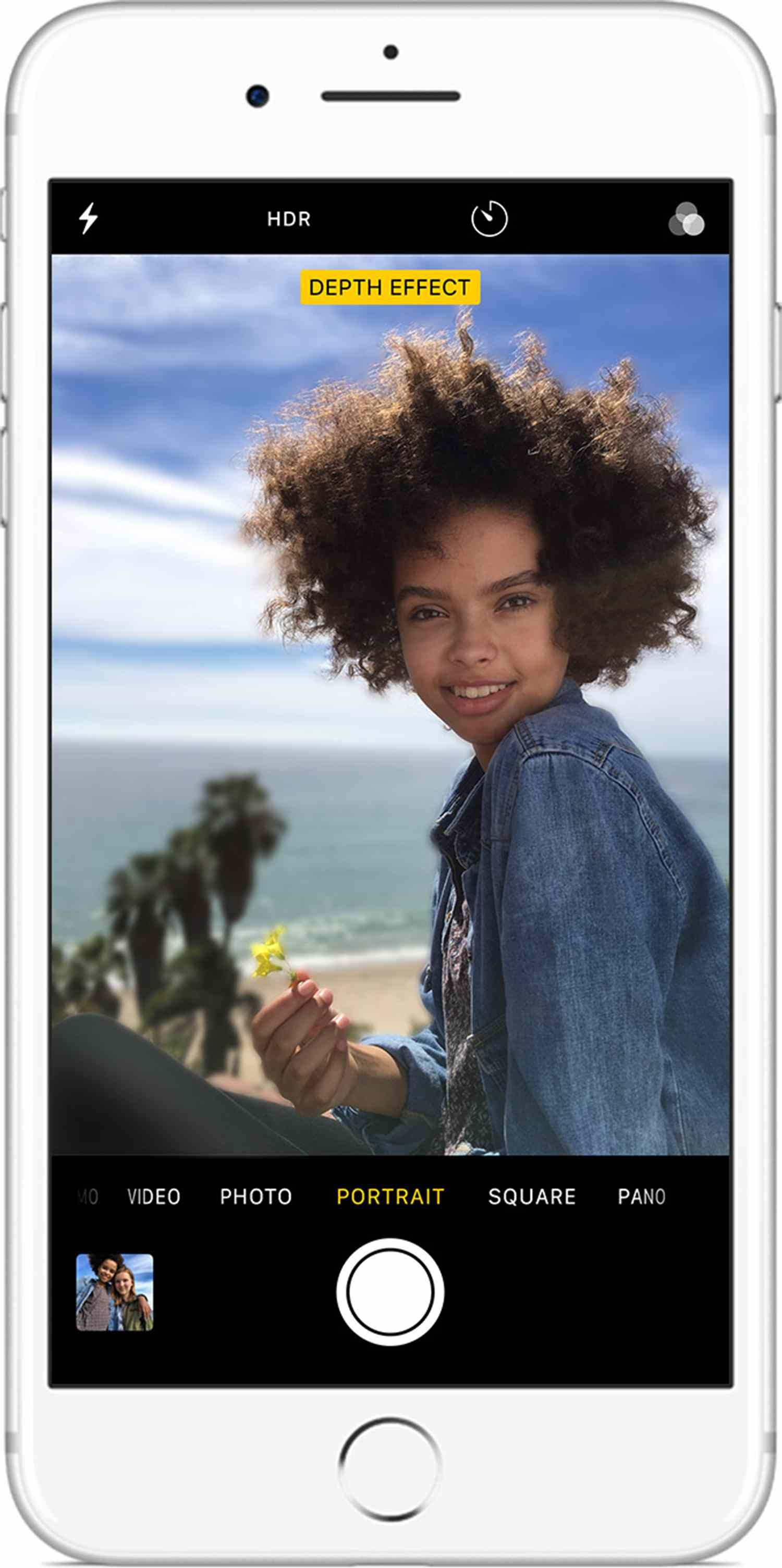How To Get The Portrait Mode On Iphone 7