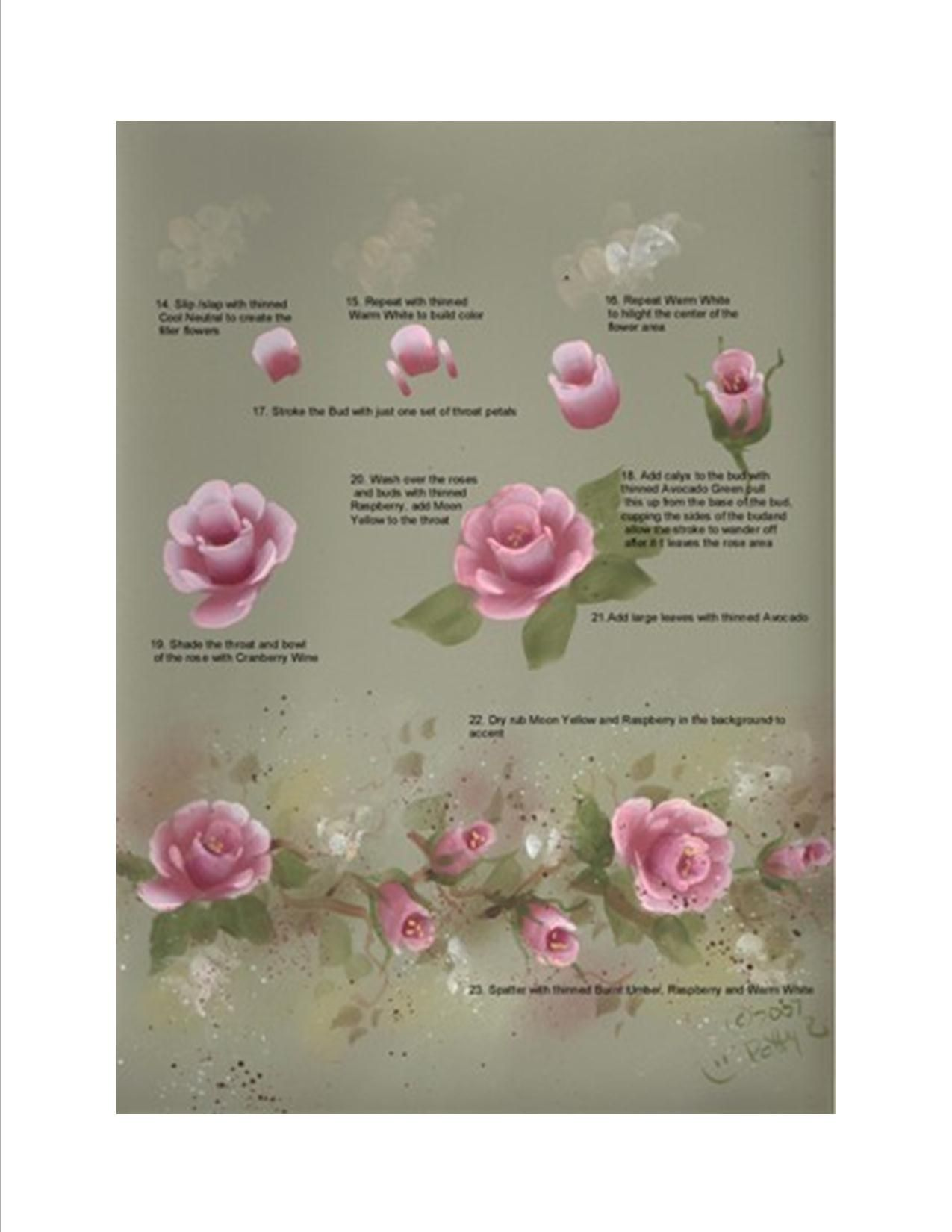 Roses Tutorial Sheet