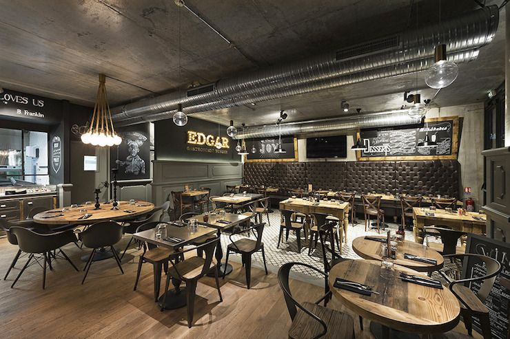 Restaurant Burger Edgar à Nice | Burgers, Restaurants and Bar lounge