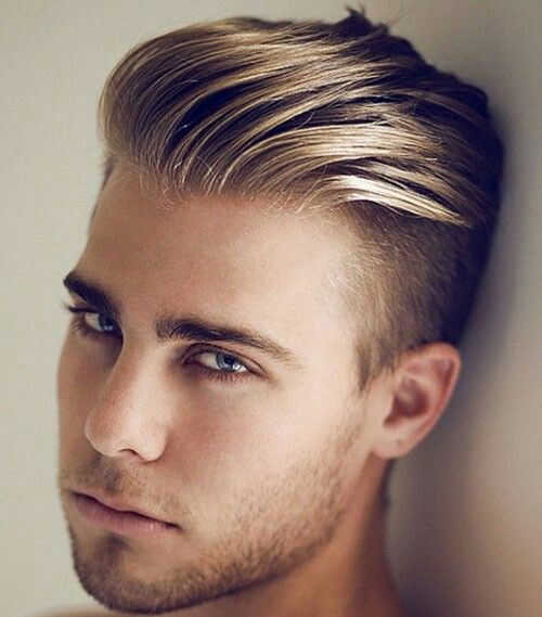 The Edgy Haircut For Men Is The Undercut. Shaved Sides Add A Modern Twist  To The Long Bangs Combed Back. Style Your Hair. Hair Salons Located At The  Lower ...
