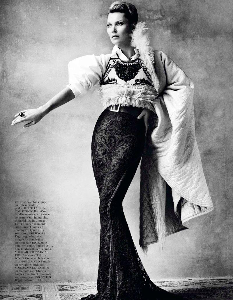 Kate Moss para Vogue Paris Abril 2013