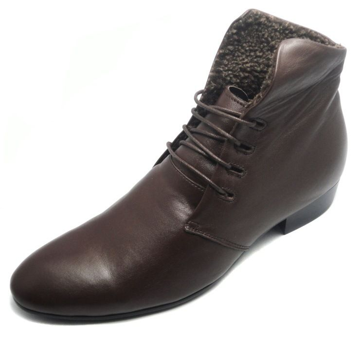 4be0877605 2016 New Black Brown Mens Boots Fashion Casual Shoes Man Soft Genuine  Leather Ankle Boots Winter