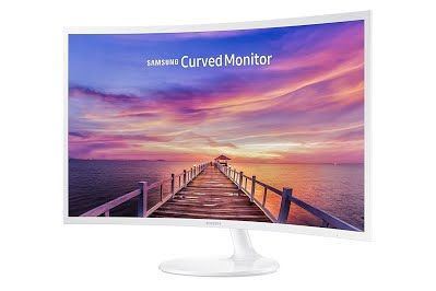Samsung 32 Inch Widescreen Fhd Curved Led Monitor 1920x1080 Resolution 16 9 Aspect Ratio 4ms Response Time 178 Degrees Viewing Angles 5 000 1 Static Contra