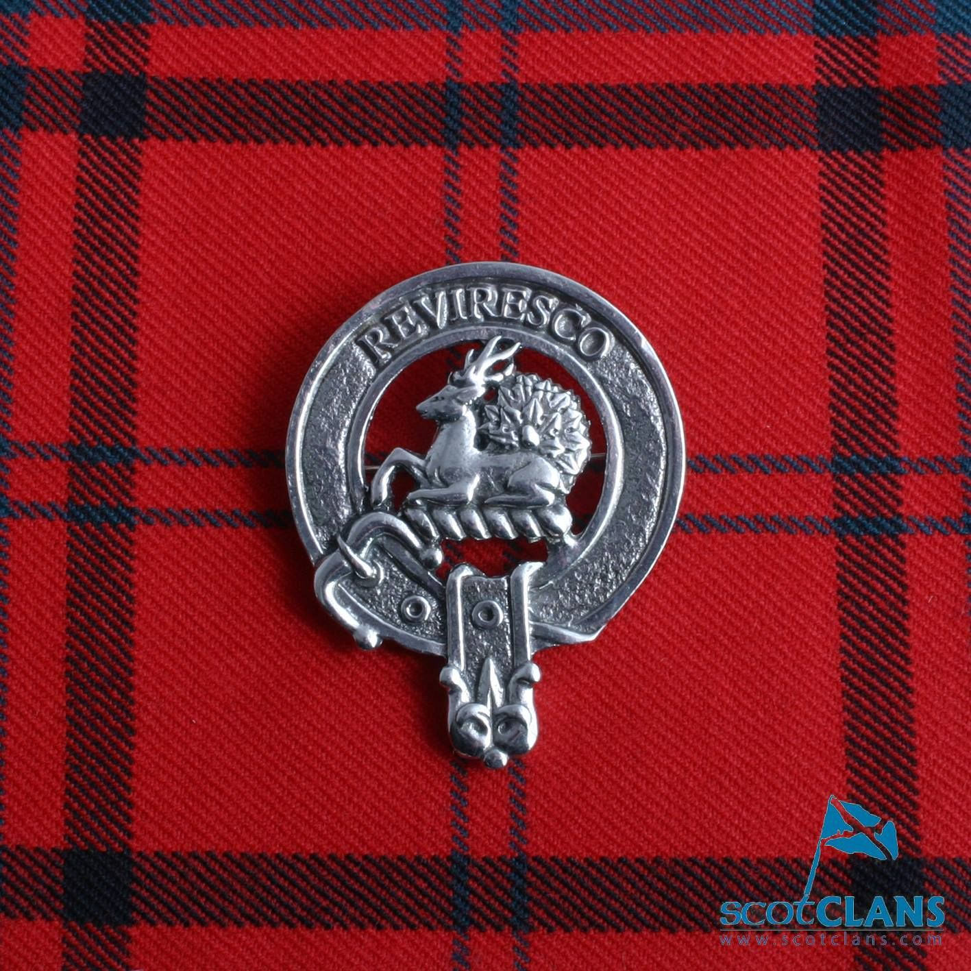 Maxwell Clan Crest Badge | Genealogy & Personal History