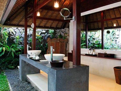 Outdoor Bathroom Luxury Villa In Ubud Bali Bali Home
