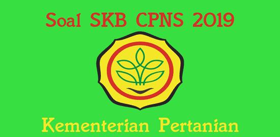 Latihan Soal Skb Kementerian Pertanian Cpns 2019 Sumber Daya Air
