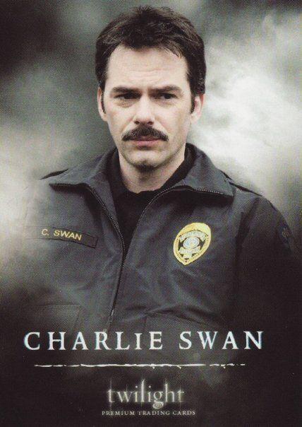 Charlie Swan in TWILIGHT