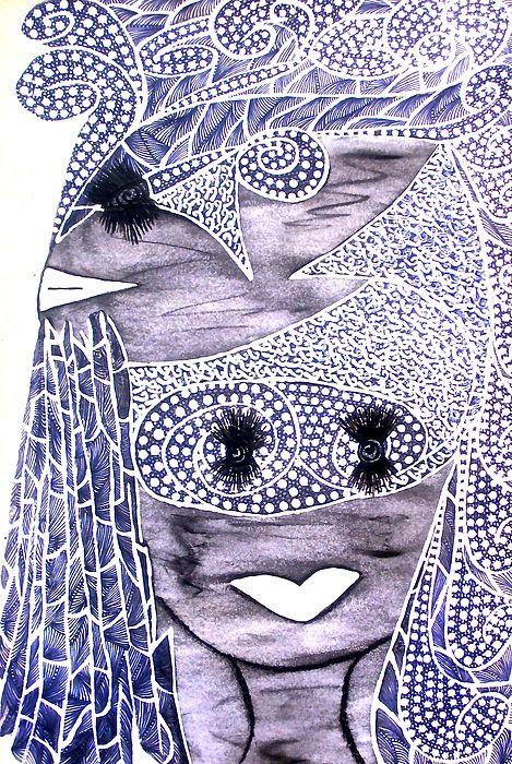 Monkey Goddess: from Original tetkaART