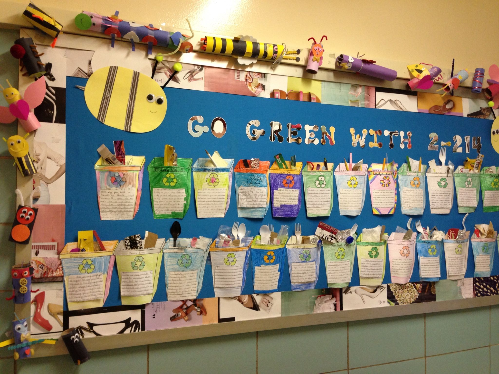 Recycle Bulletin Board