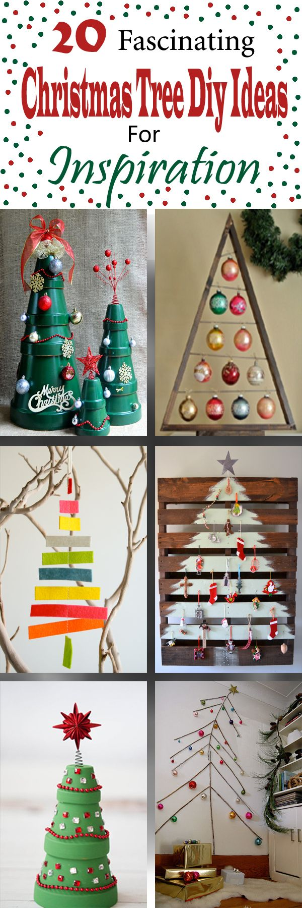 20 Fascinating Christmas Tree Diy Ideas For