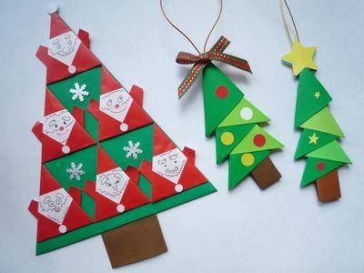 クリスマス 会 飾り付け 折り紙