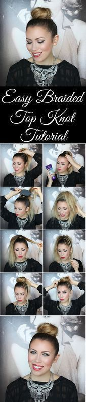 Easy Braided Top Knot Hair Tutorial with Aussie  #Aussie #Braided #Easy #Hair ##BeautyBlog #MakeupOfTheDay #MakeupByMe #MakeupLife #MakeupTutorial #InstaMakeup #MakeupLover #Cosmetics #BeautyBasics #MakeupJunkie #InstaBeauty #ILoveMakeup #WakeUpAndMakeup #MakeupGuru #BeautyProducts #braidedtopknots Easy Braided Top Knot Hair Tutorial with Aussie  #Aussie #Braided #Easy #Hair ##BeautyBlog #MakeupOfTheDay #MakeupByMe #MakeupLife #MakeupTutorial #InstaMakeup #MakeupLover #Cosmetics #BeautyBasics #M #braidedtopknots