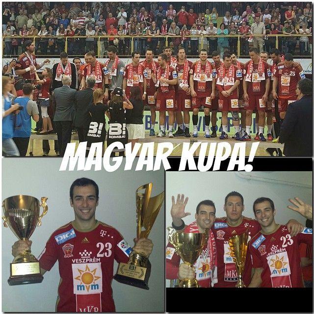 Champions of Magyar Kupa!!! #veszprem #szeged #magyar #cup #handball ...