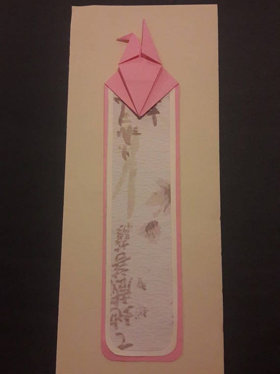 Origami Crane Bookmark Origami Crane, Origami, Diy Projects To Try